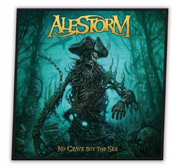 ALESTORM - No grave but the sea Patch Aufnäher