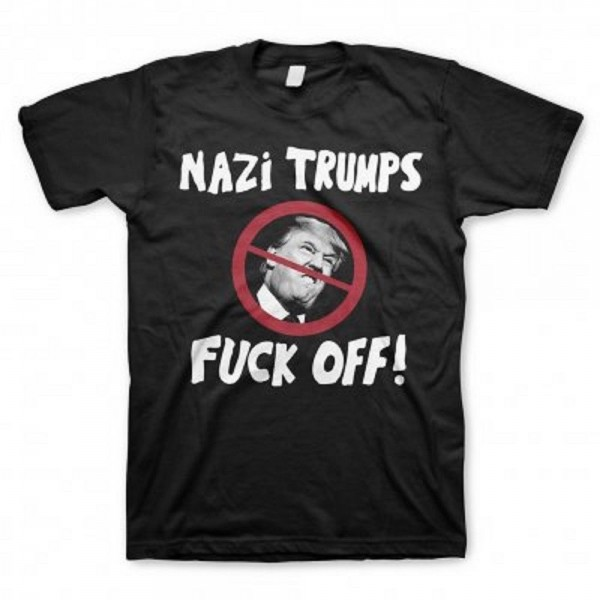 Jello Biafra & GSM - Nazi Trumps Fuck Off T-Shirt