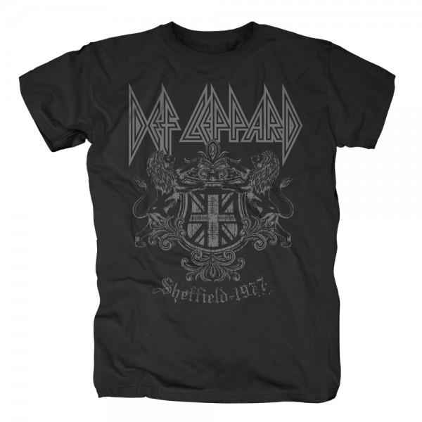 DEF LEPPARD - Sheffield 1977 T-Shirt