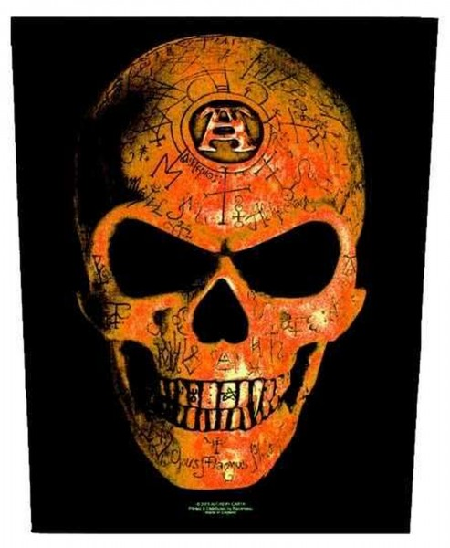 ALCHEMY - Skull Backpatch Rückenaufnäher
