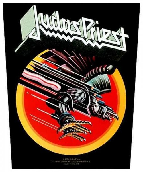 JUDAS PRIEST - Screaming For Vengeance Backpatch Rückenaufnäher
