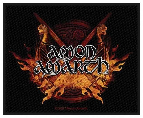 AMON AMARTH - Viking Horde Patch Aufnäher