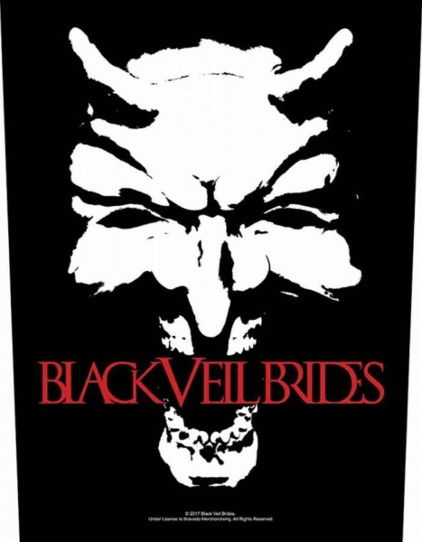 BLACK VEIL BRIDES - Devil Backpatch Rückenaufnäher