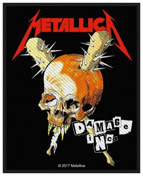 METALLICA - Damage Inc. Patch Aufnäher