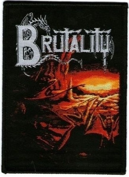 BRUTALITY - When The Sky Turns Black Patch Aufnäher