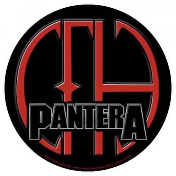 PANTERA - CFH rund Backpatch Rückenaufnäher