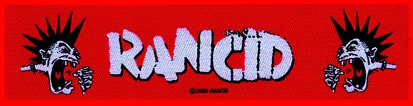RANCID - Mohawk Patch Aufnäher Superstrip
