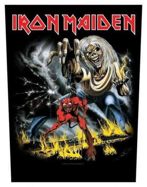 IRON MAIDEN - Number Of The Beast Backpatch Rückenaufnäher