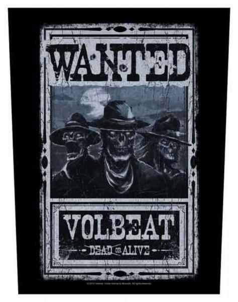 VOLBEAT - Wanted Backpatch Rückenaufnäher