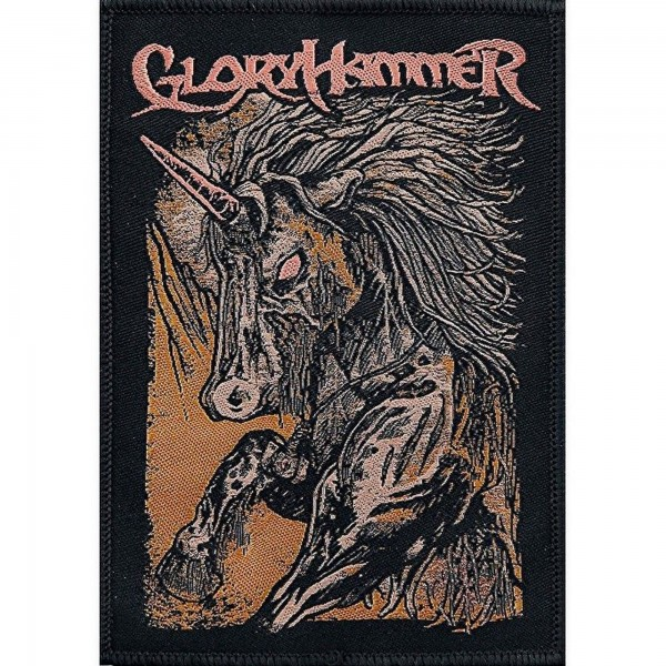 GLORYHAMMER - Zombie Unicorn Patch Aufnäher