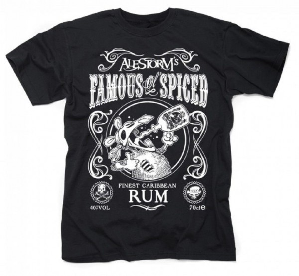 ALESTORM - Famous Ol´ Spiced T-Shirt