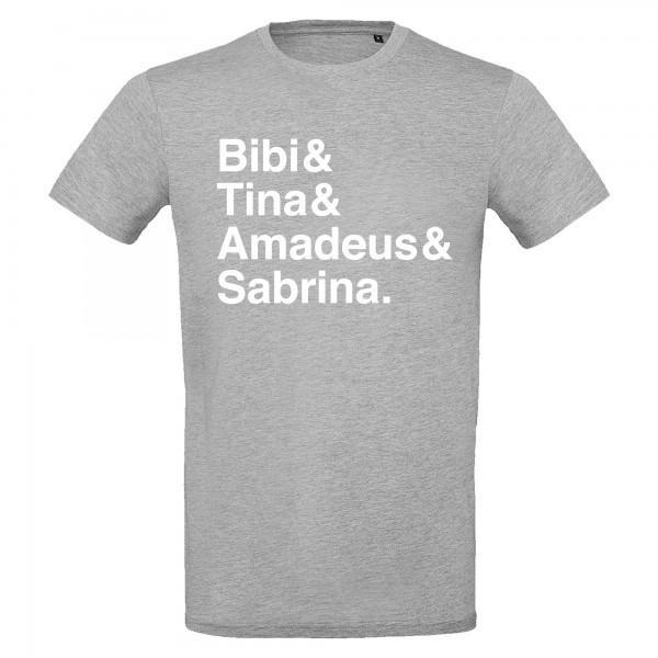 BIBI & TINA - grau T-Shirt