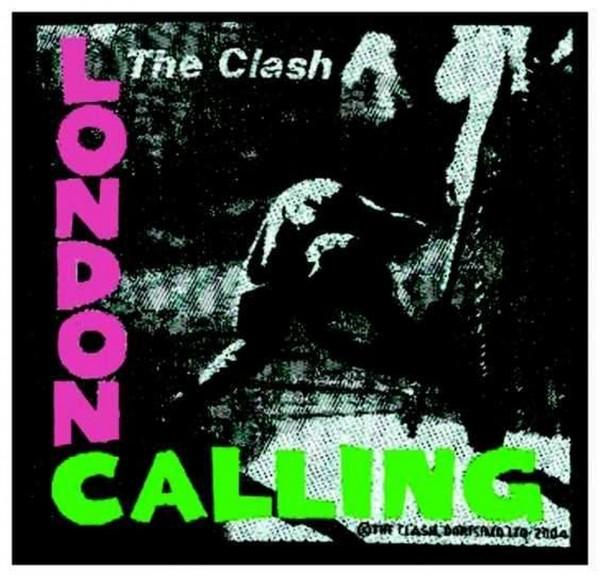 THE CLASH - London Calling Patch Aufnäher