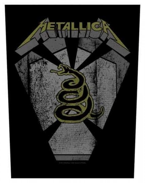 METALLICA - Pit Boss Backpatch Rückenaufnäher