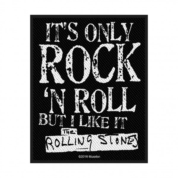 THE ROLLING STONES - It´s only rock´n roll Patch Aufnäher