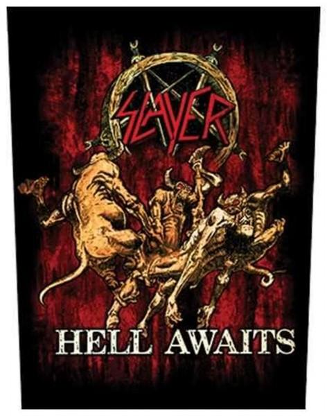 SLAYER - Hell Awaits Backpatch Rückenaufnäher