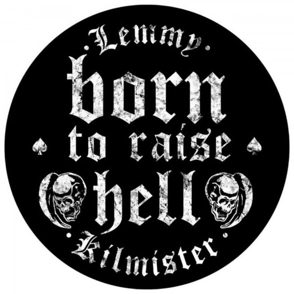 MOTÖRHEAD - Born To Raise Hell Backpatch Rückenaufnäher