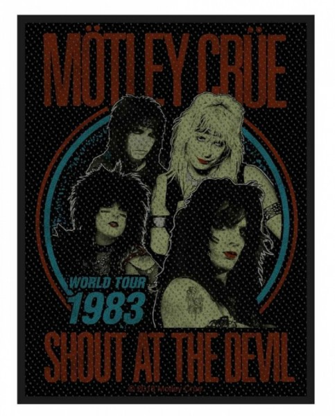 MÖTLEY CRÜE - Shout At The Devil Patch Aufnäher