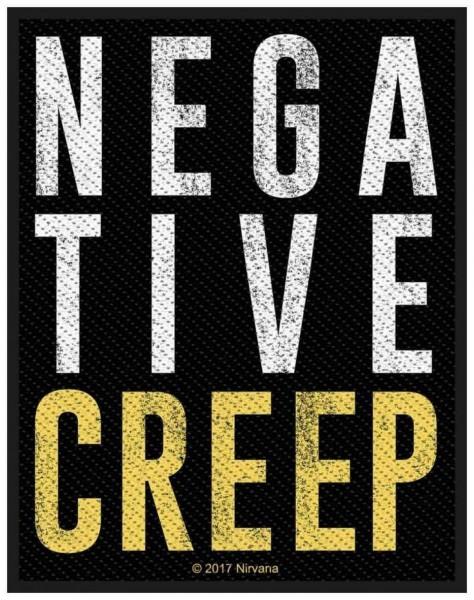 NIRVANA - Negative Creep Patch Aufnäher