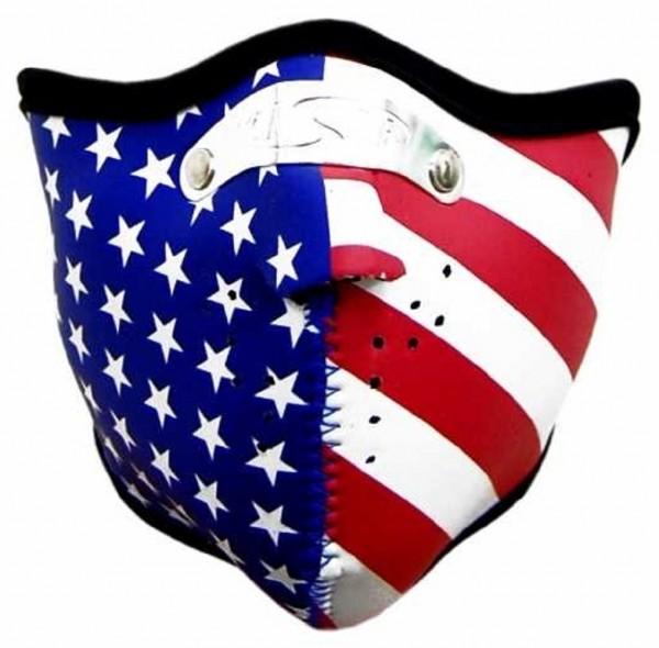 MASKE - Motorrad Gesichtsmaske Mundschutz Gesichtsschutz USA