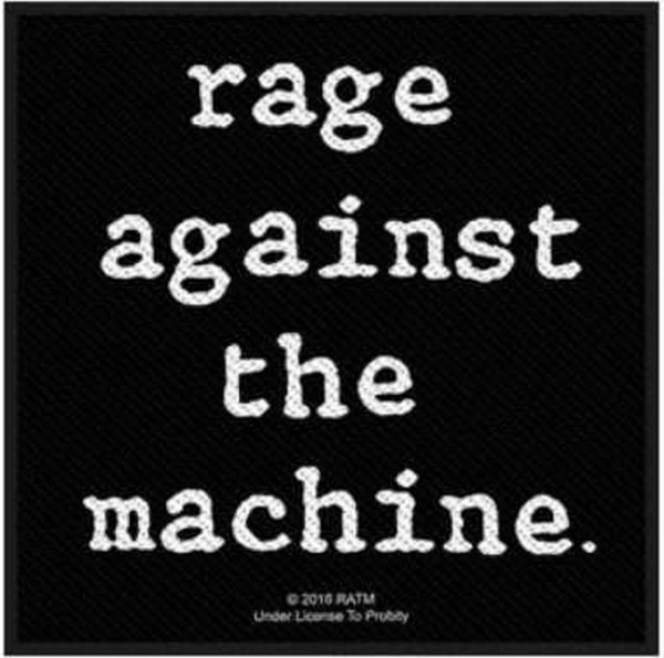 RAGE AGAINST THE MACHINE - Logo Patch Aufnäher