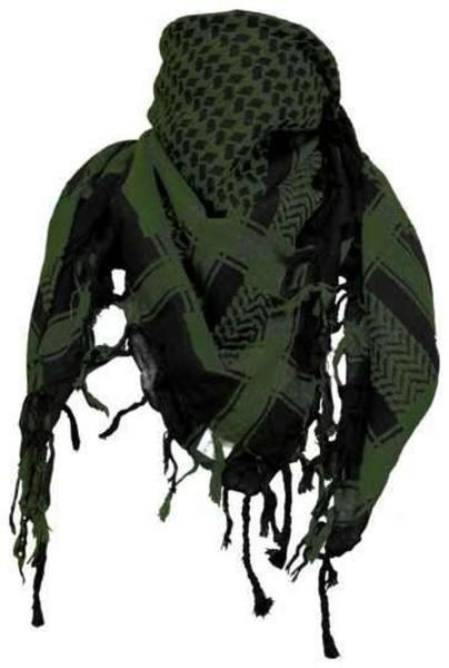 PLO Tuch Palästinensertuch - oliv schwarz