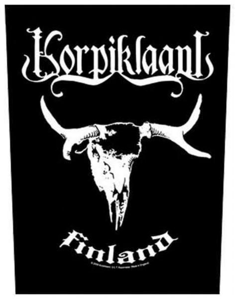 KORPIKLAANI - Finland Backpatch Rückenaufnäher