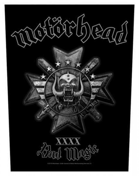 MOTÖRHEAD - Bad Magic Backpatch Rückenaufnäher