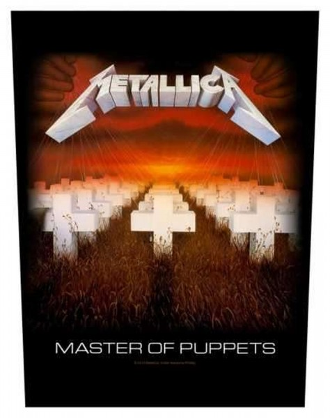 METALLICA - Master Of Puppets Backpatch Rückenaufnäher