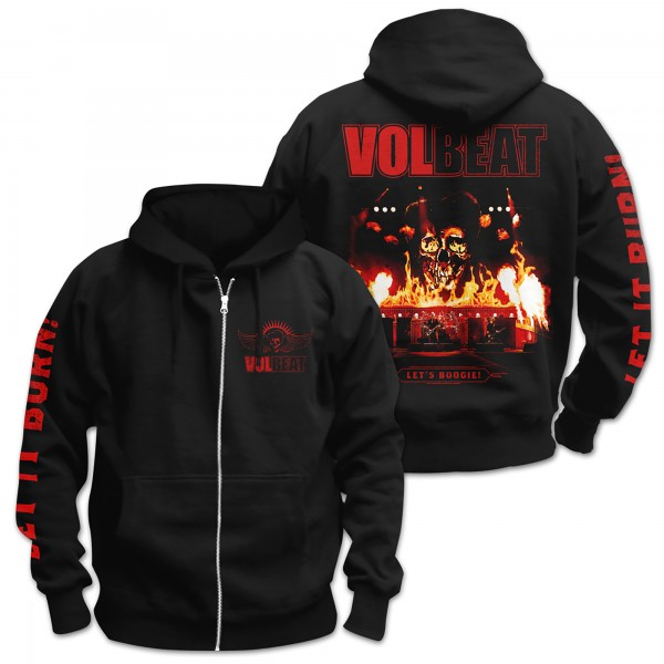 VOLBEAT - Let It Burn Kapuzenjacke