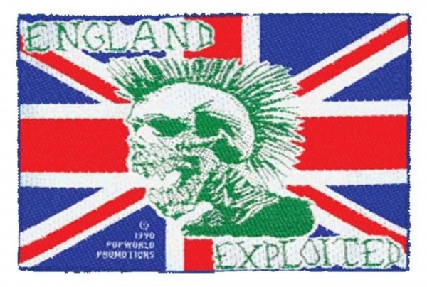 THE EXPLOITED - England Patch Aufnäher