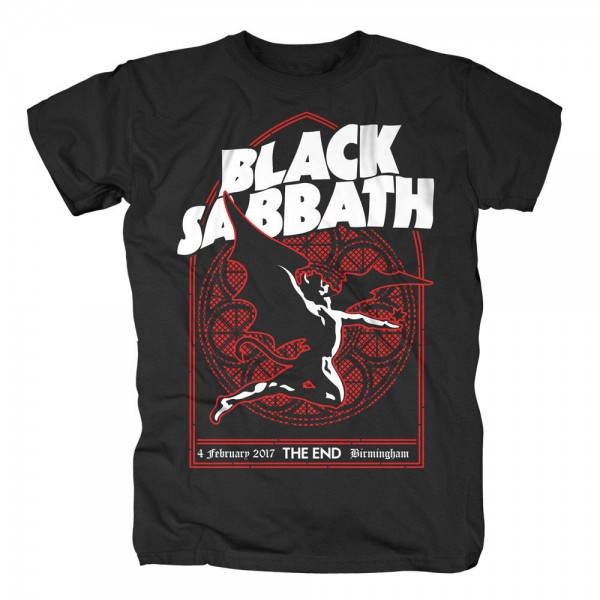 BLACK SABBATH - Church Window T-Shirt
