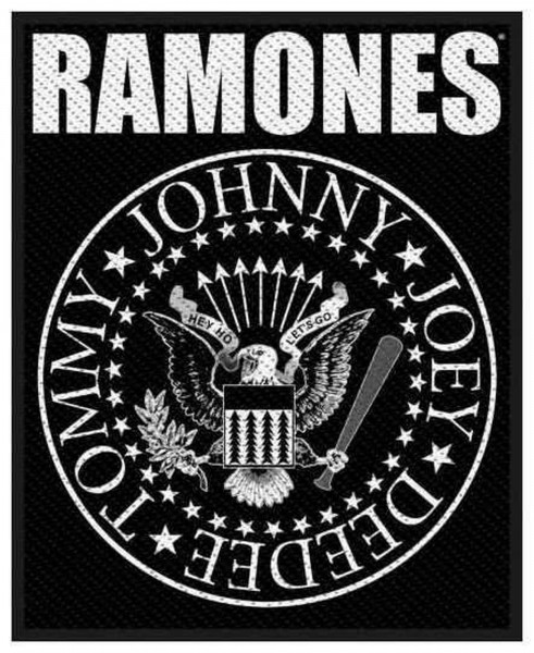 THE RAMONES - Classic Seal Patch Aufnäher
