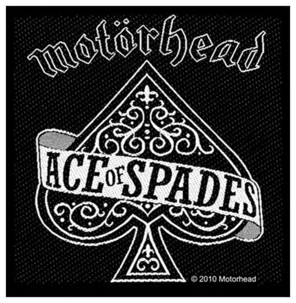 MOTÖRHEAD - Ace Of Spades Patch Aufnäher