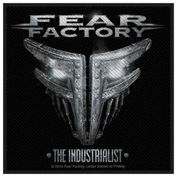 FEAR FACTORY - The Industrialist Patch Aufnäher