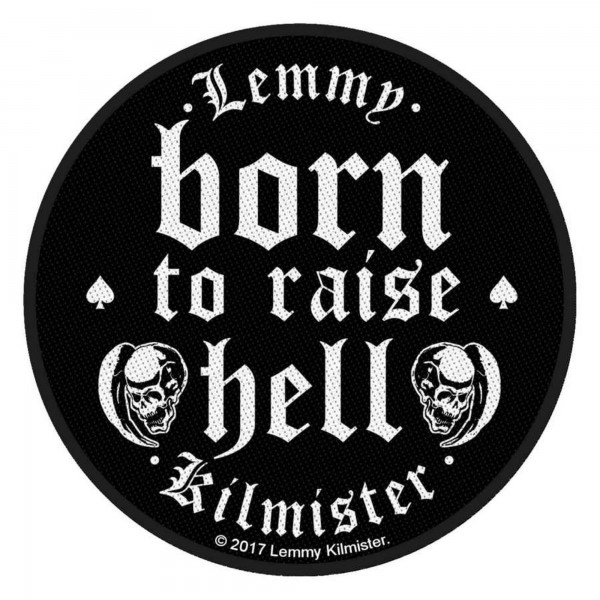 MOTÖRHEAD - Born To Raise Hell Patch Aufnäher
