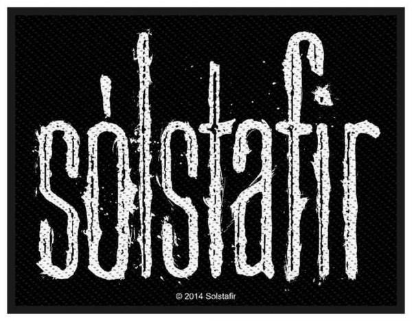 SOLSTAFIR - Logo Patch Aufnäher