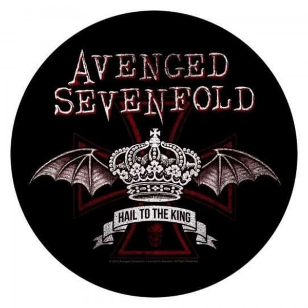 AVENGED SEVENFOLD - Red Crown Backpatch Rückenaufnäher