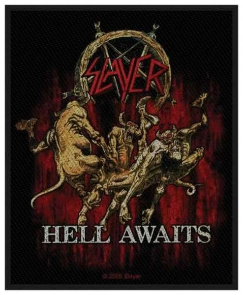 SLAYER - Hell Awaits Patch Aufnäher