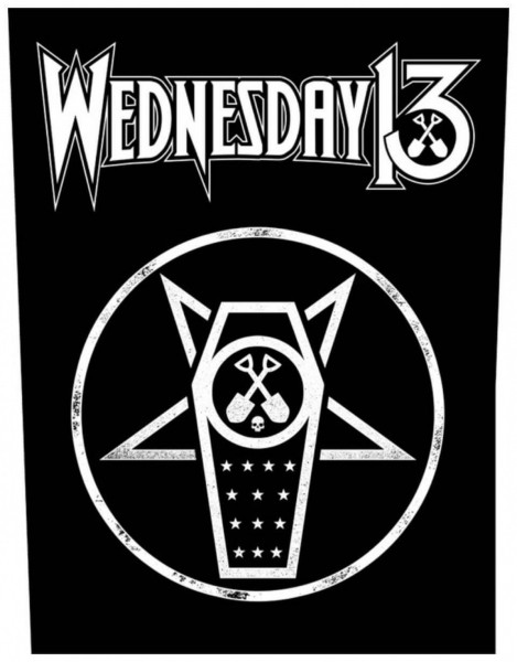 WEDNESDAY 13 - What The Night Brings Backpatch Rückenaufnäher