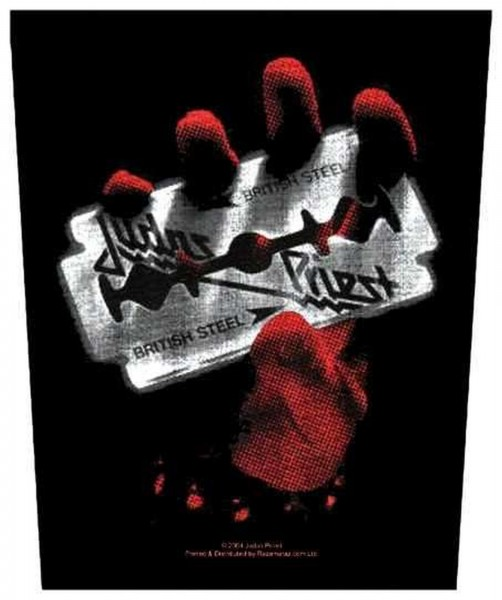 JUDAS PRIEST - British Steel Backpatch Rückenaufnäher