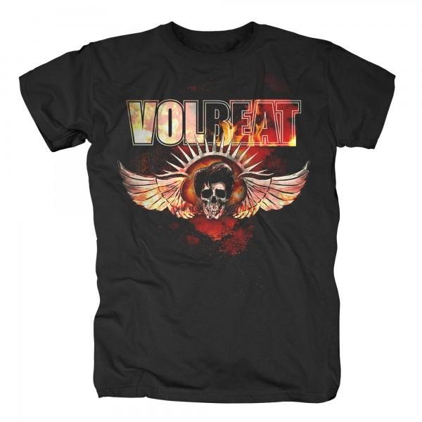 VOLBEAT - Burning Skullwing T-Shirt
