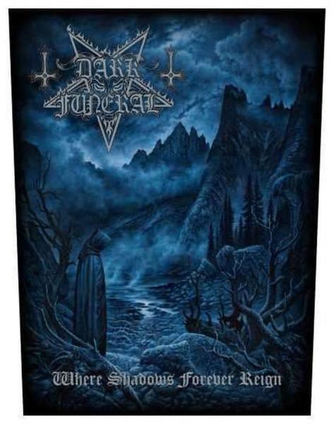 DARK FUNERAL - Where Shadows Forever Reign Backpatch Rückenaufnäher