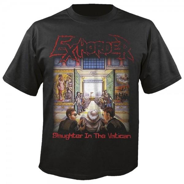 EXHORDER - Slaughter In The Vatican T-Shirt