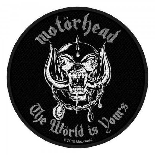 MOTÖRHEAD - The Wörld Is Yours Patch Aufnäher
