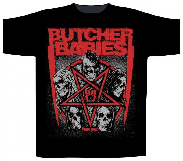BUTCHER BABIES - Skull Star T-Shirt