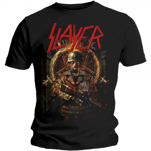 SLAYER - Hard Cover Comic T-Shirt