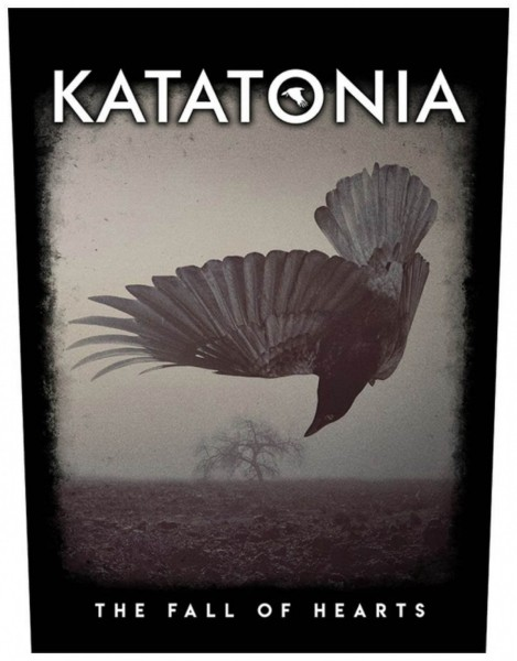 KATATONIA - Fall Of Hearts Backpatch Rückenaufnäher