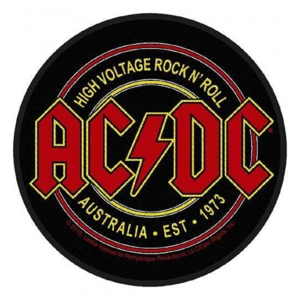 AC/DC - High Voltage Rock N´Roll Patch Aufnäher
