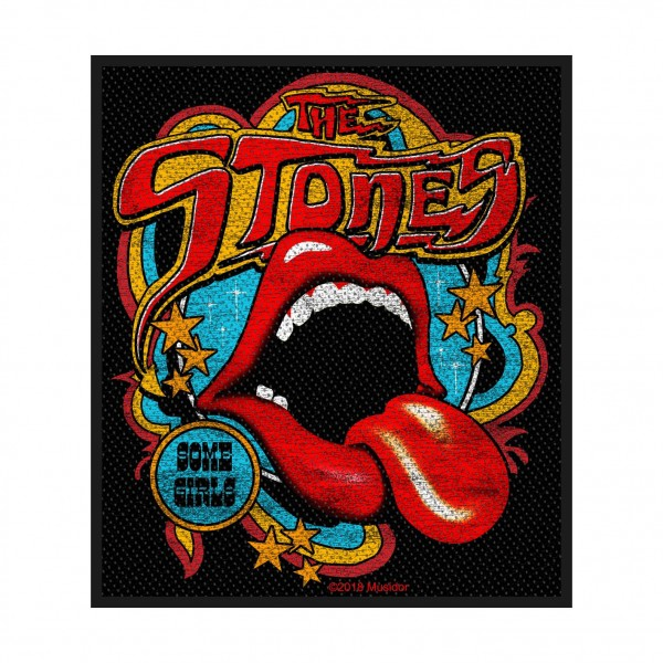 THE ROLLING STONES - Some Girls Tongue Patch Aufnäher